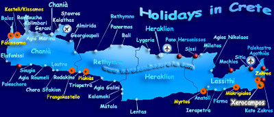 Tips and suggestions for holidays in Crete