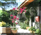 Villa Ampelos has 2 double rooms, 1 triple room and a large apartment hosting up to 7 persons