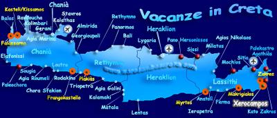 Cartina Geografica Isola Di Creta.Mappa Del Sito Xerocamboscreta Com In Lingua Italiana